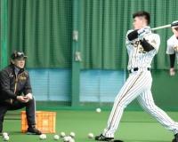 【阪神】井上広大さん「センターから右方向を狙っていきたい」