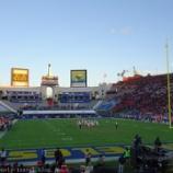 『ロサンゼルス旅行記16 NFL観戦後にUSC(南カルフォルニア大学)に寄ったらレアポケモンのケンタロスをゲットできた』の画像