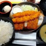 『松のやで大判ヒレかつ&サーモンフライ(2枚)定食ご飯大盛り!無料ポテサラも!【株主優待・クーポン】』の画像