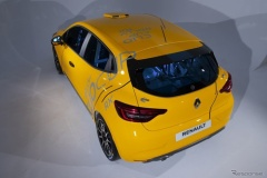 ルノー、新型「クリオ」のレーシングカー発表! 1.3ターボ180馬力!