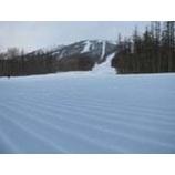 『今日は青空も見える雫石スキー場』の画像