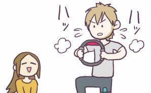"""外国人の夫が""""白熱する""""ゲーム"""