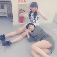 太田夢莉の生足太ももで眠る山本彩が可愛すぎる!【画像あり】 アイドルファンマスター
