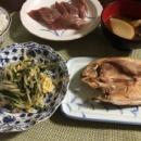 世の中捨てたもんじゃない&水菜と卵の炒め物