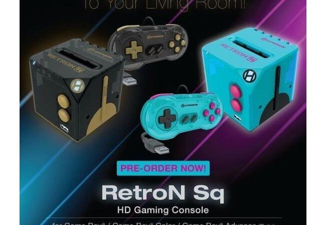 ゲームボーイ、ゲームボーイカラー、ゲームボーイアドバンスをHD画質で―「RetroN Sq」が3月発売予定