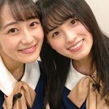 『『できるかな!?乃木坂46』出演の桃ちゃんと葉月! 2ショットが3枚きてますよ!【乃木坂46】』の画像