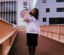 『【萩原舞】with mii第2弾パーカーと巾着の新作が出るよ チェックよろしく』の画像