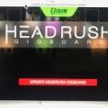 HeadRush:PEDALBOARD / GIGBOARD ~ ファームウェアをVer. 2.3にアップデートしてみた
