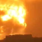【動画】中国、またまた化学工業が大爆発!巨大な火球、キノコ雲、爆音が轟く!