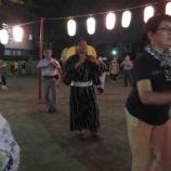 『戸田市各町会で、盆踊りが始まってきます。戸田市に来て16年目。盆踊りは楽しい。盆踊りの輪の中で踊ると、この市の一員になれたことを実感します。今宵も浴衣で踊りました!』の画像
