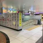 『【朗報】浜松駅の北口付近にコインロッカーが仮設置?一時休業になるエキマチイーストからの移設で分かりやすくて便利かも。』の画像