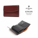 『入荷   ラフコードバン三つ折り財布 KTW187R』の画像