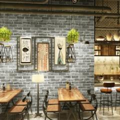 新柄!ビンテージレンガ&木目柄のクッション壁シートでお客様の心を鷲掴み