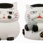 漫画「おじさまと猫」のブサカワ猫「ふくまる」がソフビマスコットになってガチャに登場!