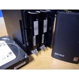 『BUFFALO LinkStation RAID1 LS-WV4.0TL/R1J データ復旧』の画像