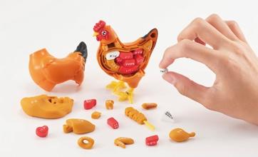 メガハウスから鶏の部位を覚えられるやべーパズルが登場wwwwwwwwww