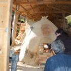 『丹波焼最古の登り窯 焼成始まりました!』の画像