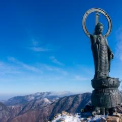 釈迦ヶ岳登山で2017-2018シーズン開始