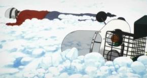 【スーパーカブ】第10話 感想 バイク対雪の季節