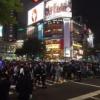 【速報】現在の渋谷の様子wwwwwww【ハロウィンナイト】