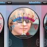 『顔認識アプリ』の画像