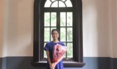 【元乃木坂46】深川麻衣、一橋大学でのトークショーを終えこの笑顔!