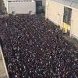 『【乃木坂46】西野七瀬の握手会、鍵開けしたファンは『2日前』から並んでいた模様!!!』の画像