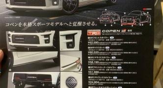 【画像】トヨタからコペンのGRスポーツが登場