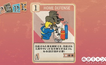 Fallout 76:Home Defense(Agility)
