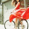 女性と自転車のカッコいい画像 (20枚)