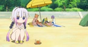 【小林さんちのメイドラゴン】第7話 感想 コミケの洗礼を受けるファフニールさん