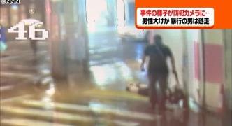 頭を蹴られ、脳内出血の大けが 日本橋強盗殺人未遂 派遣社員の男(40)逮捕 レンタルショップで「体がぶつかった」と口論