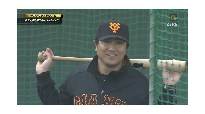 【 動画 】「代打オレ」いける!?高橋由伸監督、フリーバッティングを披露!いまだ鋭いスイング衰えずw