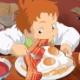 ワイ「ハウルの分厚いベーコンエッグ食べたいなぁ…せや!」