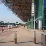 『シンガポール・チャンギ国際空港(ターミナル3野外)の喫煙所』の画像