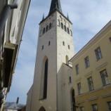 『バルト三国旅行記8 【エストニア編】タリン旧市街の絶景を見る最高の場所!聖オレフ教会』の画像