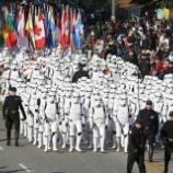 『【海外】スターウォーズ大行進! 2007年ローズパレードでのハイライト動画です!』の画像