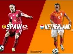【速報】オランダ圧勝!!前回優勝スペインに5得点!ロッベン&ペルシ2得点 (動画あり)