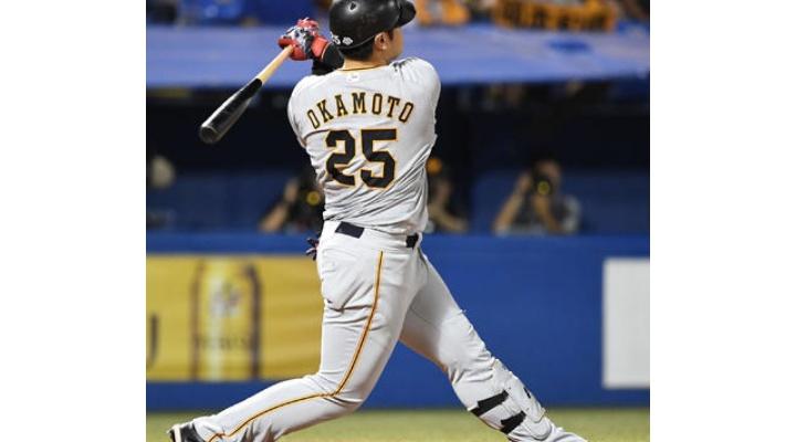 巨人・岡本は100打点いきそう? .267(544-145) 31本  93打点  出塁率.344  長打率.489  OPS.833