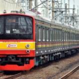 『コロナ禍で6ドア大復活!!205系埼京線ハエ22編成10連復帰』の画像