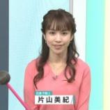 『【画像】今日の片山美紀さん 4.12』の画像