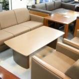 『UCHIDA ウチダ 応接4点セット【新品同様オフィス家具】』の画像