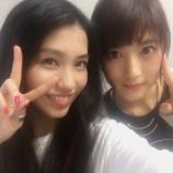『【乃木坂46】AKB48田野優花『乃木坂の若月ちゃん来てくれたよぅ❤︎』』の画像