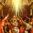 『二階の部屋、ペンテコステ、聖霊の満たしと異言を話すと キリストが身近に成るよね!』の画像