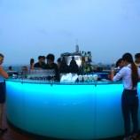 『バンコクの夜景を眺めにきました@Rooftop Bar Octave』の画像