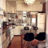 『【キッチン】団地・社宅・アパートで壁に穴をあけない【インテリア】実例 1/3 【インテリアまとめ・インテリアブログ マンション 】』の画像