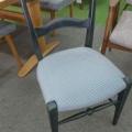 カリモク家具 椅子の張替えです。