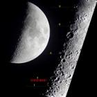 『月面X現象 訂正 2/21』の画像