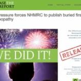 『ホメオパシーの効果に関する報告書が一般公開』の画像