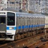 『九州に残る415系8連運用』の画像